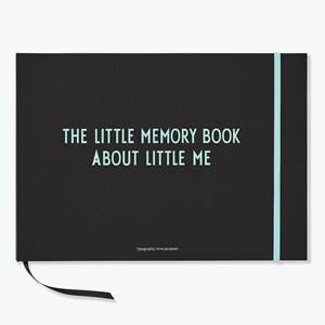 Design Letters Unisex Norway Assort Home accessories Blue The Little Memory Book About Little Me Blue