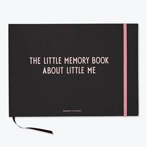 Design Letters Girls Norway Assort Home accessories Pink The Little Memory Book About Little Me Pink