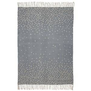 Done by Deer Unisex Norway Assort Textile Grey Rug, 90 X 120 Cm, Gold/Grey