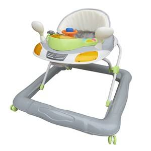 Basson Baby Unisex Norway Assort Ride ons and walkers Grey Walker Grey/Green