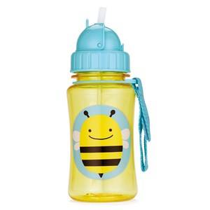 Skip Hop Unisex Norway Assort Tableware Yellow Zoo Straw Bottle Bee