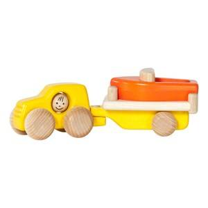 Bajo Unisex Construction Car With Boat