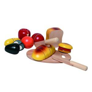 Nic Unisex Role play Wooden Jumbo Breakfast