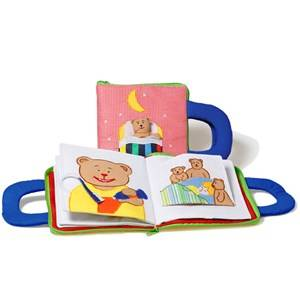 oskar&ellen; Unisex Reading Blue Good Night Book Blue