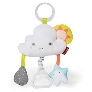 Skip Hop Unisex Stroller accessories Multi Silver Lining Cloud Stroller Toy