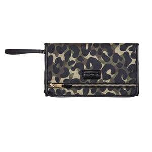 Tiba + Marl Unisex Changing and travel bags Green Etta Changing Clutch Camo