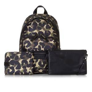 Tiba + Marl Unisex Changing and travel bags Green Elwoood Backpack Camo