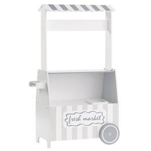 Kids Concept Unisex Role play White Market Stall