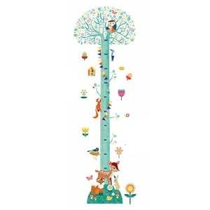 Djeco Unisex Home accessories Green Blossom Tree Height Chart