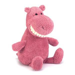 Jellycat Unisex Soft toys Pink Toothy Hippo