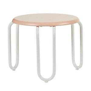 Kids Concept Unisex Furniture Aprikos Linus Stool Apricot/White