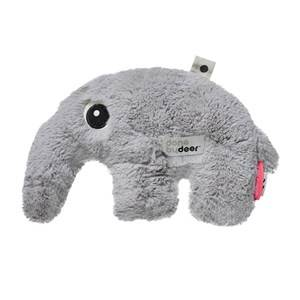 Done by Deer Unisex Norway Assort Soft toys Grey Cuddle Cute Antee Grey