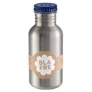Blafre Boys Norway Assort Flasks and water bottles Blue Steel Bottle Dark Blue 500ml