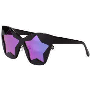 Stella McCartney Kids Girls Eyewear Black Black and Pink Starlens Sunglasses