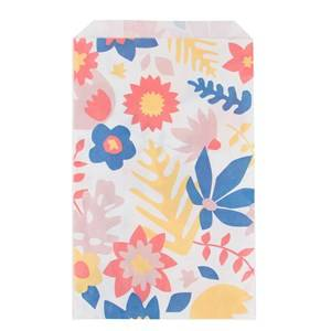 My Little Day Unisex Tableware Multi 10 Paper Bags - Tropical Flowers