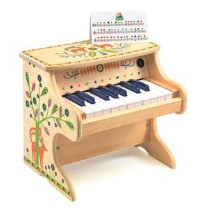 Djeco Unisex Musical instruments and toys Multi Animambo Electronic Piano