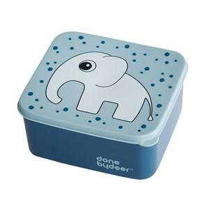 Done by Deer Unisex Norway Assort Lunch boxes and containers Blue Lunch Box Elphee Blue