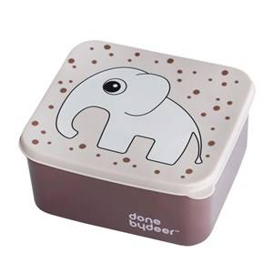 Done by Deer Unisex Norway Assort Lunch boxes and containers Pink Lunch Box Elphee Powder