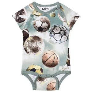 Molo Boys Onesies Blue Feodor Baby Body Up In The Air