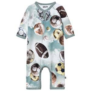 Molo Boys Onesies Blue Fleming One-Piece Up In The Air
