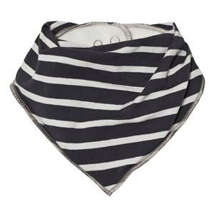 Molo Unisex Baby feeding Blue Nick Bib N.Y. Blue Stripe