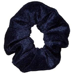 Molo Unisex Hair accessories Blue Velvet Scrunchie Total Eclipse