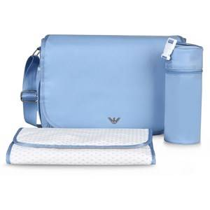 Giorgio Armani Junior Unisex Bags Blue Changing Bag Pale Blue