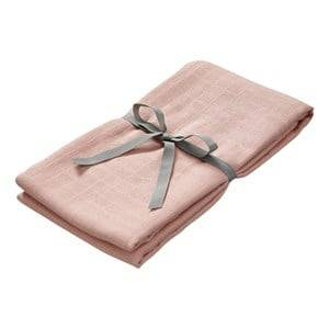 Cam Cam Unisex Textile Pink Organic Muslin Swaddle - Blush