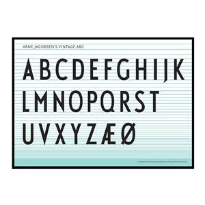 Design Letters Unisex Home accessories Multi ABC Poster