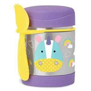 Skip Hop Unisex Lunch boxes and containers Purple Zoo Insulated Food Jar Unicorn