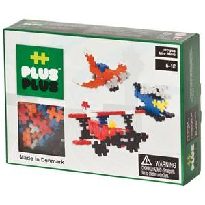 Plus Plus Unisex Puzzles and games Grey Plus Plus MINI Basic Aircraft 170 pcs