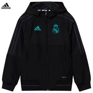 Real Madrid Boys Sporting replica Black Real Madrid ´17 Junior Pre-Match Jacket