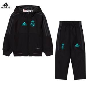 Real Madrid Boys Sporting replica Black Real Madrid ´17 Kids Training Tracksuit