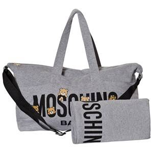 Moschino Kid-Teen Unisex Bags Grey Grey Bear Print Changing Bag