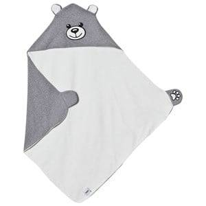 Moschino Kid-Teen Unisex Textile Grey Grey Bear Branded Blanket