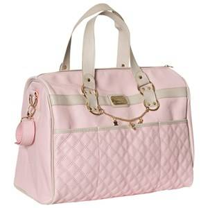 Mayoral Girls Bags Pink Pink Faux Leather Quilted Changing Bag