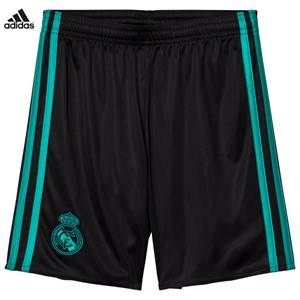 Real Madrid Boys Sporting replica Black Real Madrid ´17 Junior Away Shorts