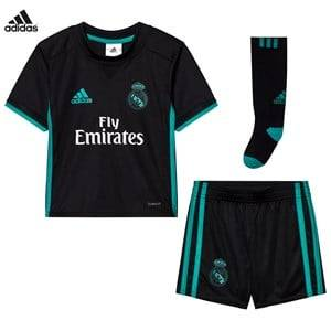 Real Madrid Boys Sporting replica Black Real Madrid ´17 Kids Away Set