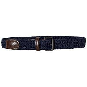 Mayoral Boys Belts Navy Navy Elastic Braided Belt