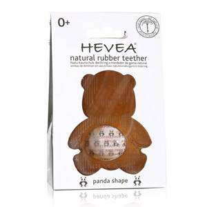 Hevea Unisex Baby feeding Brown Hevea Teether Panda 0+ Months