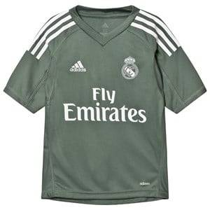 Real Madrid Boys Sporting replica Green Real Madrid ´17 Junior Home Goal Keeper Shirt