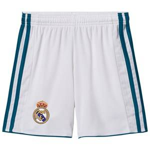 Real Madrid Boys Sporting replica White Real Madrid ´17 Junior Home Shorts