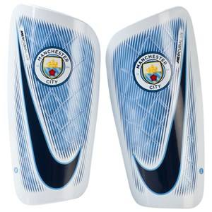 Manchester City FC Unisex Protective wear Blue Manchester City Lite Shin Guards