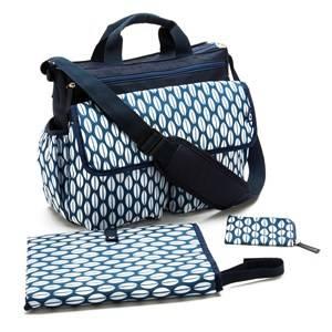 Bounty Boutique Unisex Bags Blue Luxury Changing Bag