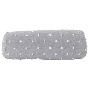ferm LIVING Unisex Textile Grey Popcorn Bolster Cushion - Grey
