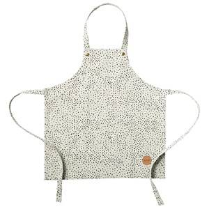 ferm LIVING Unisex Baby feeding Green Kids Apron - Mint Dot