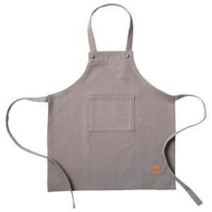 ferm LIVING Unisex Baby feeding Grey Kids Apron - Grey
