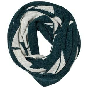 Bobo Choses Unisex Scarves Green Knitted Scarf Alma