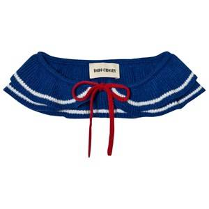 Bobo Choses Girls Collars Blue Ruffles Knitted Collar Blue