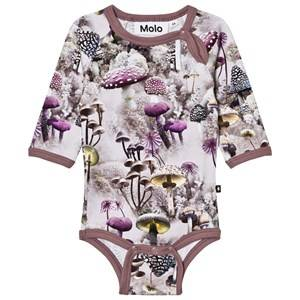 Molo Girls Onesies Green Fonda Baby Body Enchanted Forrest